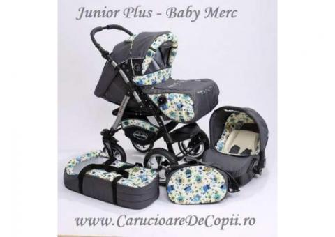 Carucior 3 in 1 Junior Plus Baby Merc - CarucioareDeCopii.ro