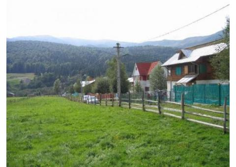 Vanzare teren intravilan, cu vedere superba in Cheia (Prahova)