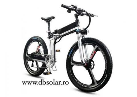 BICICLETA ELECTRICA E-BIKE MountainBike Full Suspension Pliabila E-MTB