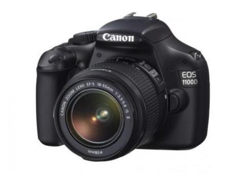 Aparat foto DSLR Canon EOS 1100D