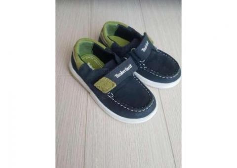 Pantofi piele Timberland copii