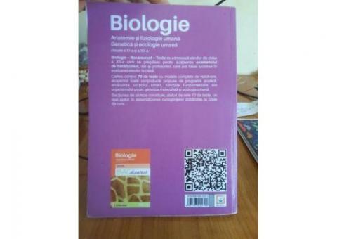 Carte de biologie pentru bac,aproape noua