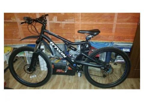 De vanzare bicicleta Mountain Bike MTB BTWIN Rockrider 500 S suspensie marimea L