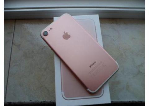 Vand IPhone 7 Rose Gold 32GB memorie 4G ca NOU Neverlocked