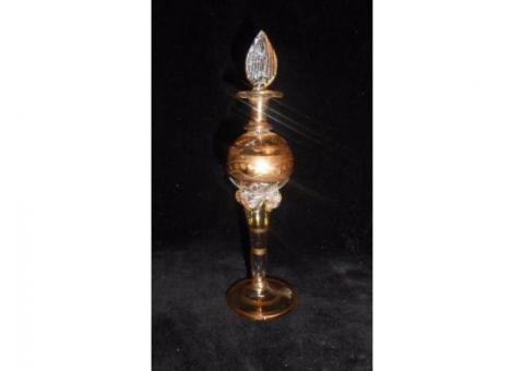 Vand Sticluta vintage de parfum egiptean