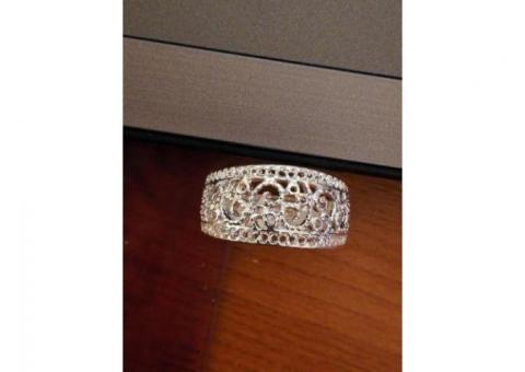 Vand inel argint,model deosebit 925