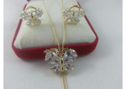 Vand Set bijuterii Luxury Butterfly