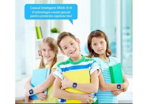 Ceas Smartwatch Pentru Copii Xkids X10 cu Functie Telefon, Localizare