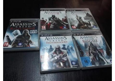 PS 3, Assassin's Creed /Call of Duty serie