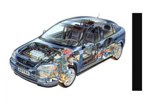 Dezmembrari Opel Astra G z16xep Dauna, auto avariat pentru Dezmembrari