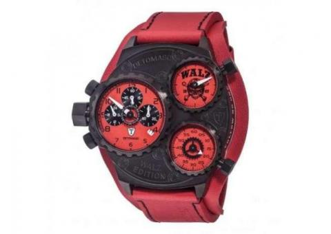 Ceas original Detomaso Grandprix Walz Red