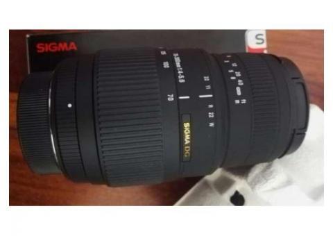Sigma 70-300mm f/4-5.6 DG APO Macro Nikon