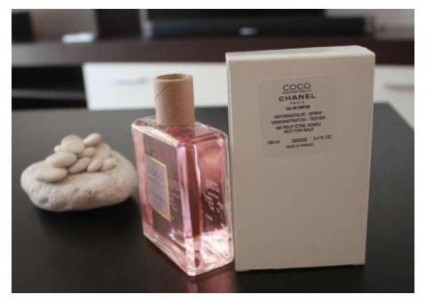 Parfum TESTER original Chanel Coco Mademoiselle 100 ml